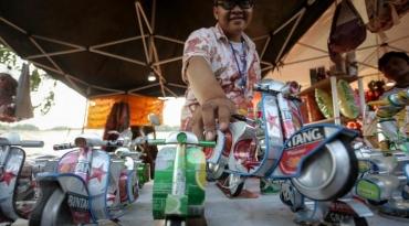 Aneka Produk Kreatif Kumpul di Lapangan Banteng