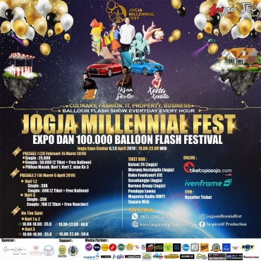 Jogja Millennial Fest 2019 - 100.000 Balloon Flash & Expo