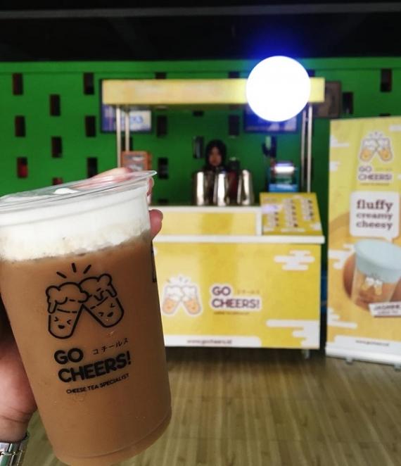 Minuman Cheese Tea Kekinian Tawarkan Paket Kemitraan