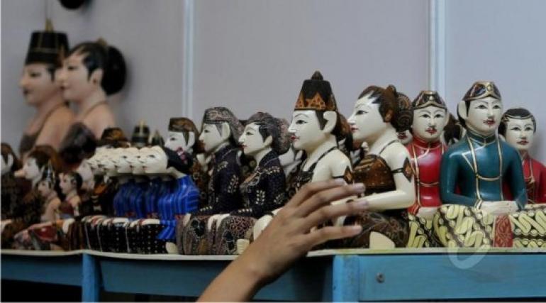 Kerajinan Khas Indonesia di Inacraft 2015