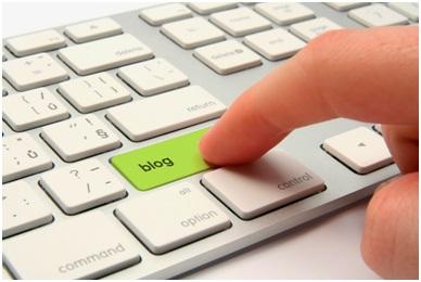 ilustrasi bisnis blog portal berita