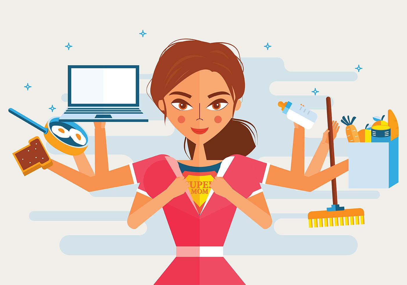 image bisnis sampingan ibu rumah tangga