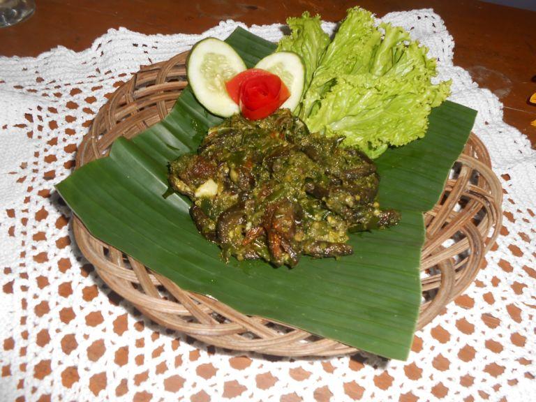 resep masakan belut penyet sambal hijau