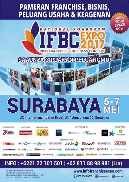 img ifbc pameran franchise waralaba ukm surabaya 2017