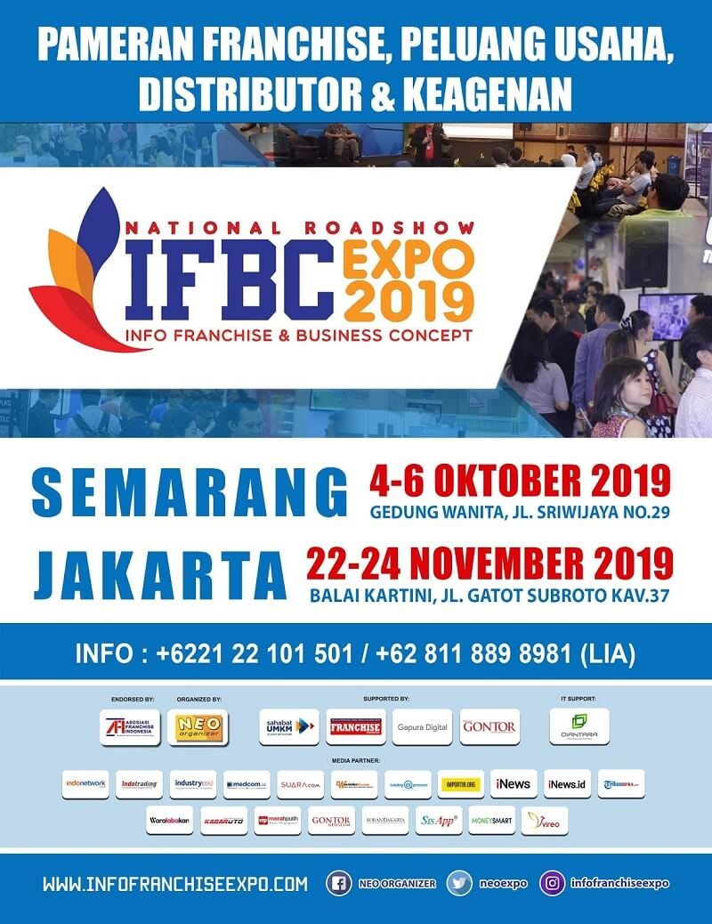 poster expo franchise ifbc sep okt 2019