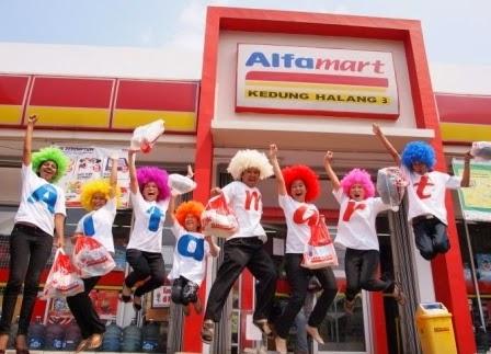 peluang usaha waralaba franchise toko minimarket alfamart