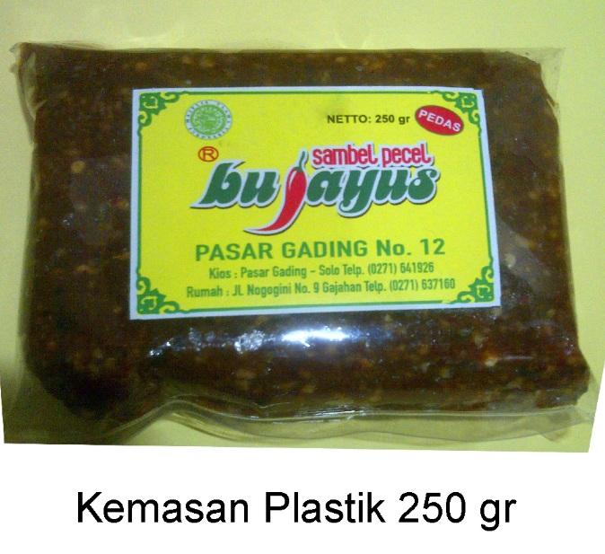 image bisnis makanan tradisional sambel pecel bu jayus