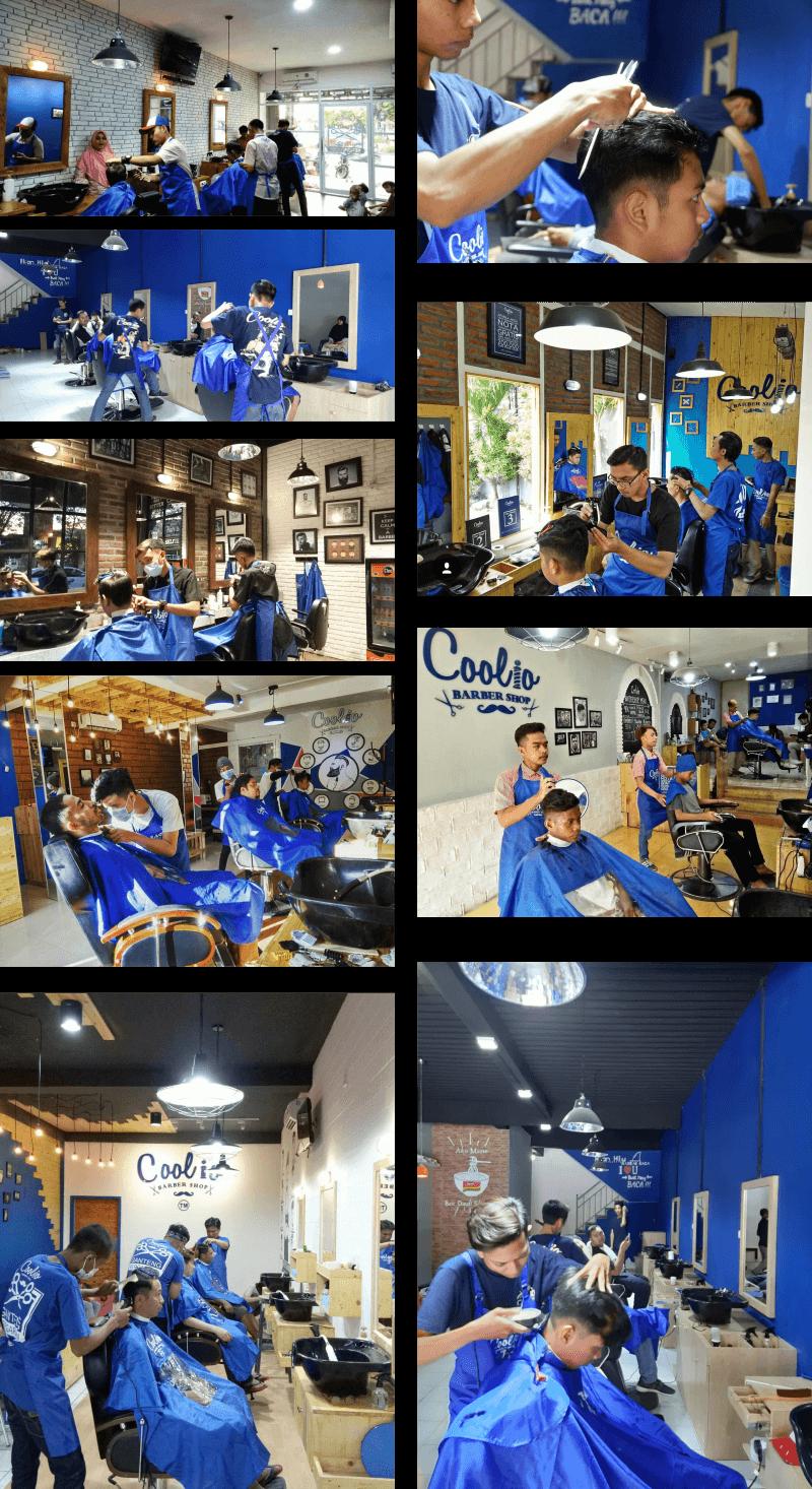 galeri foto franchise barbershop Coolio Barbershop