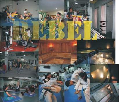 franchise fitness center pusat kebugaran rebel gym