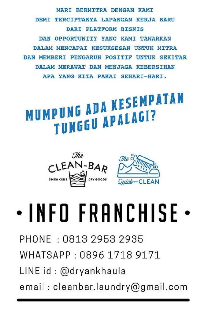 img info bisnis franchise the clean bar