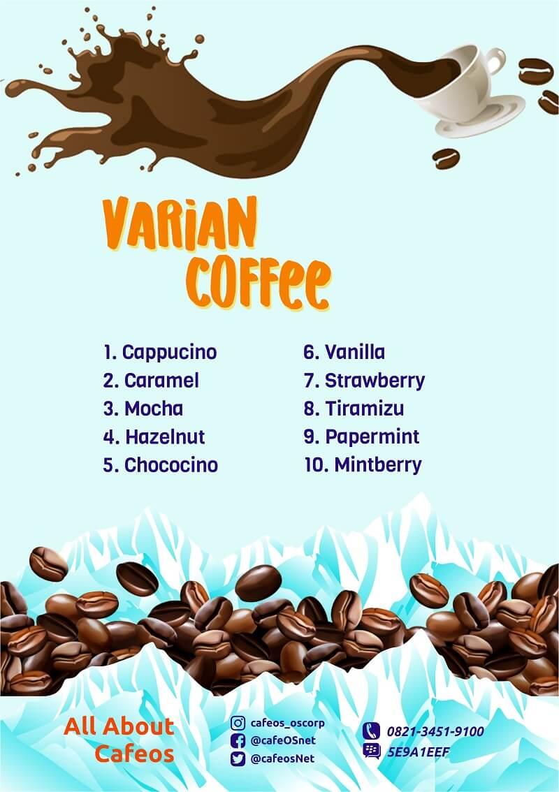 brosur jual minuman kopi kiloan