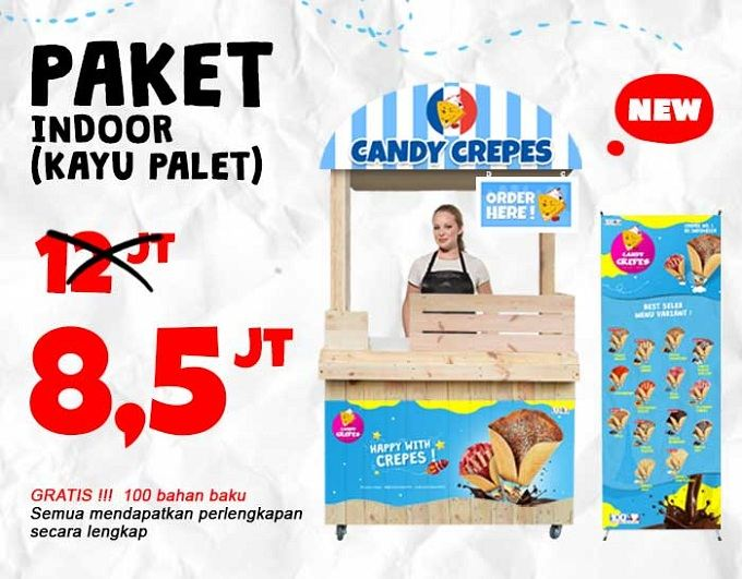 img booth kayu candy crepes