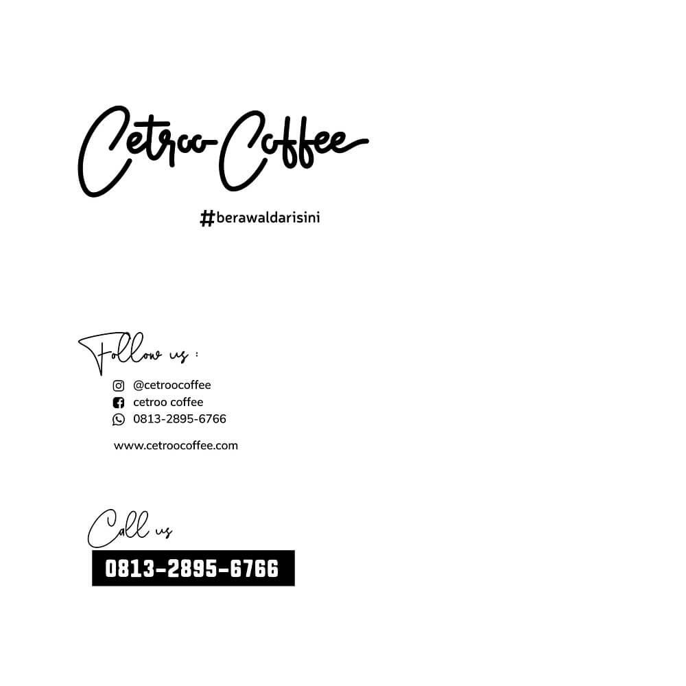 kontak franchise cetroo coffee