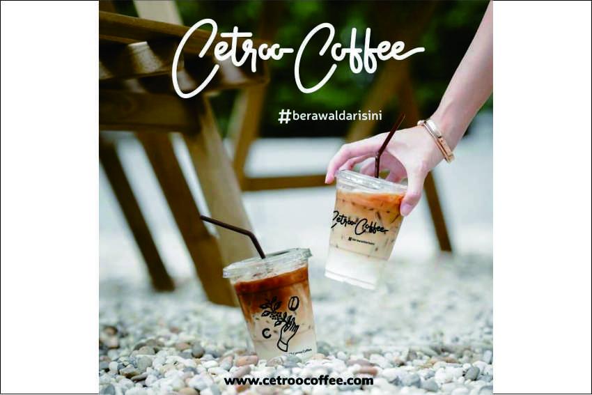 banner franchise kopi susu kekinian cetroo coffee