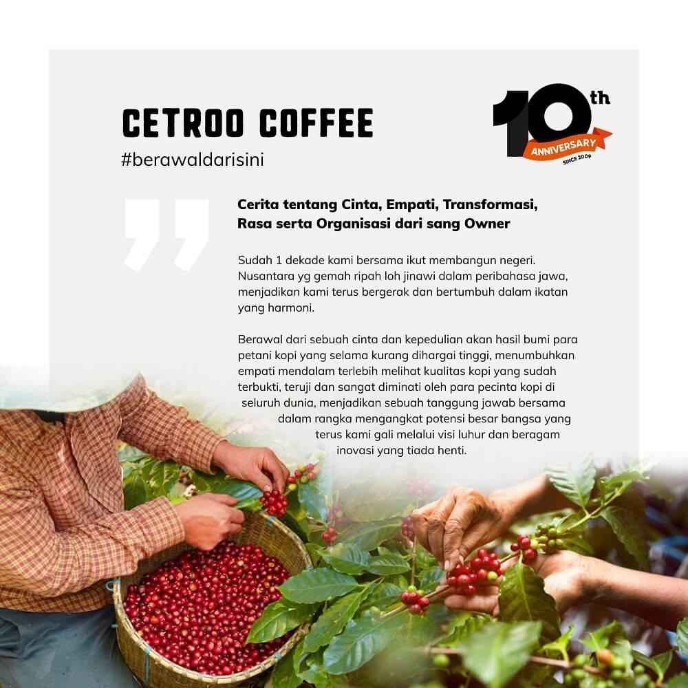 apa itu cetroo coffee
