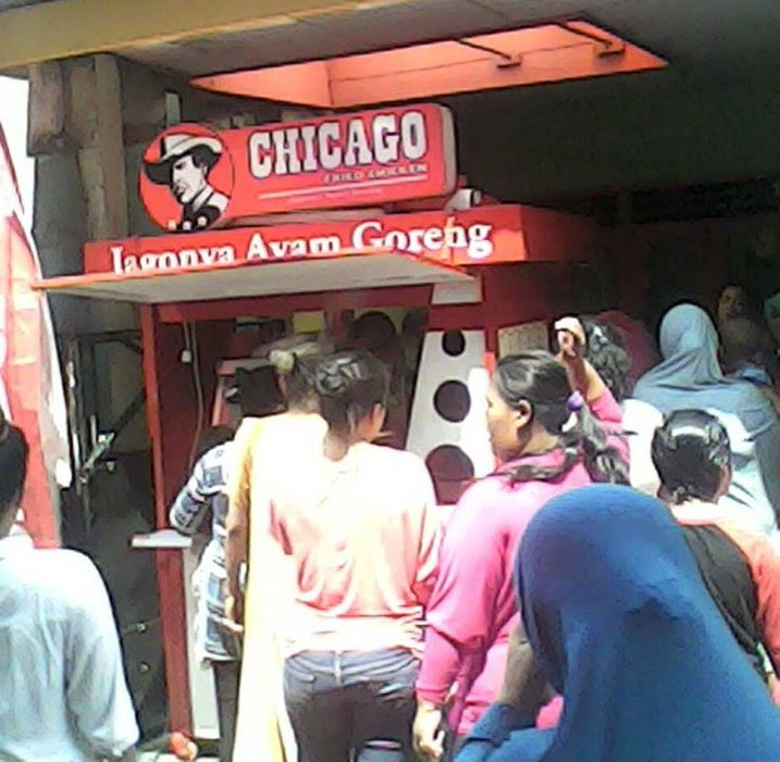 chicago fried chicken kemuning