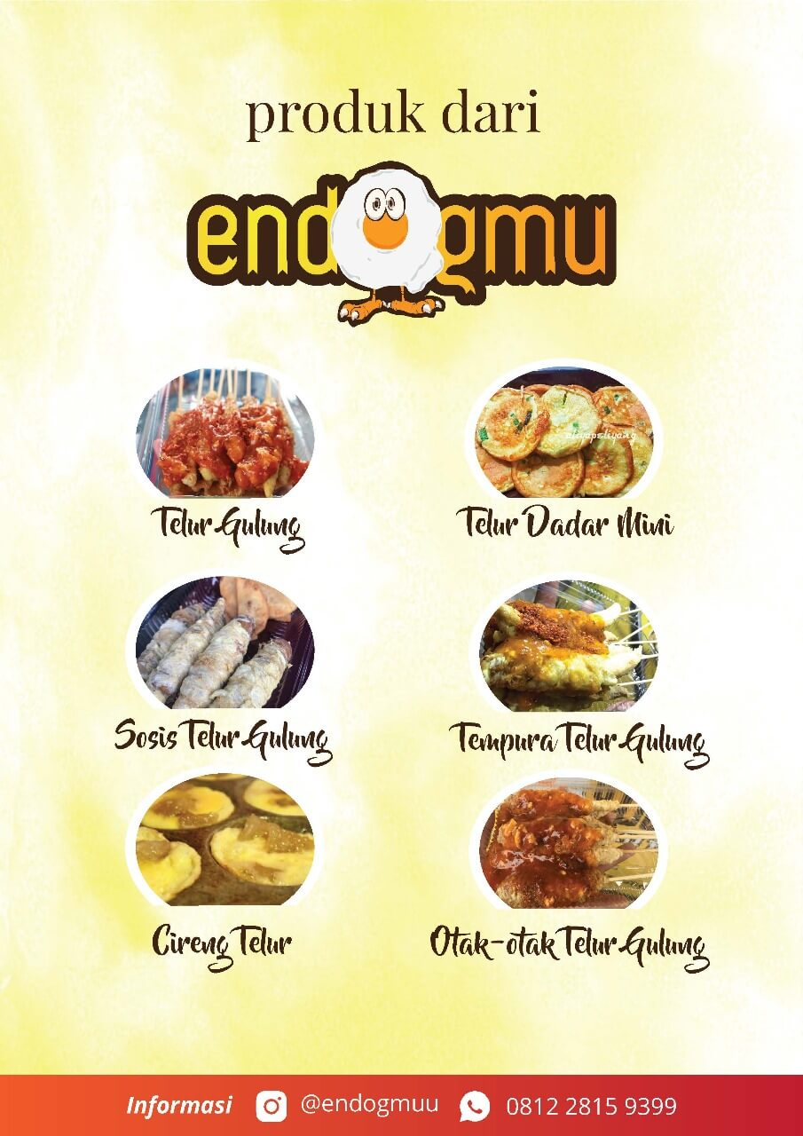 brosur franchise peluang usaha telur gulung