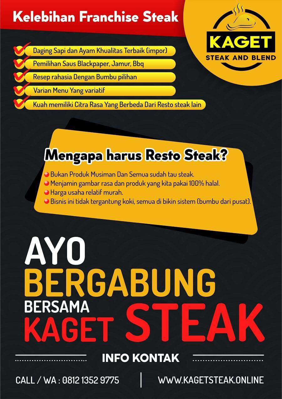 brosur mengapa waralaba kaget steak