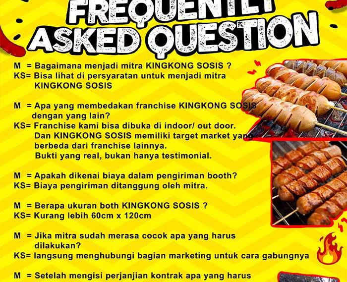 bisnis sosis bakar bandung kingkong sosis 21