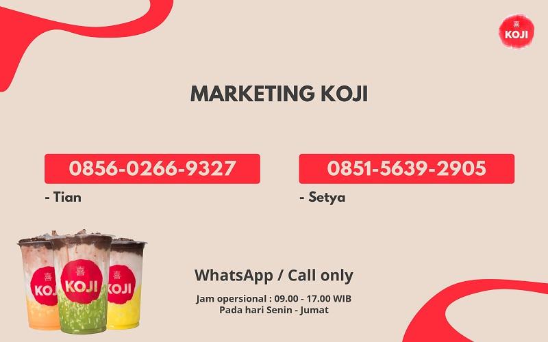 kontak marketing koji choco