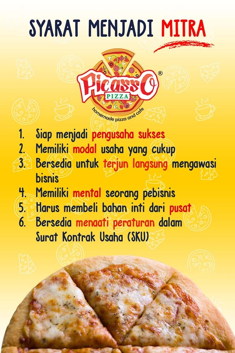 6 peluang usaha franchise picasso pizza