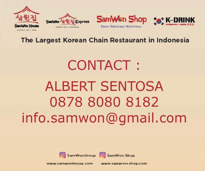 brosur kontak hubungi samwon house