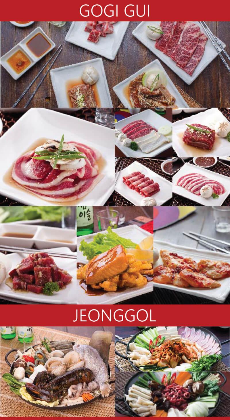 brosur menu samwon house