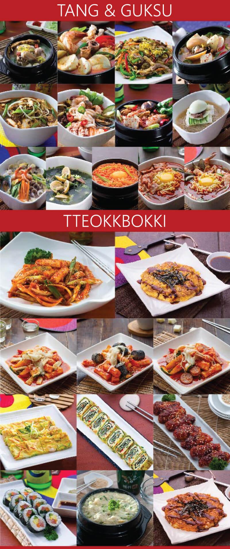 brosur paket usaha franchise restoran korea