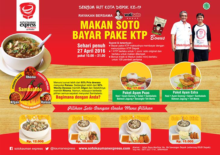2 peluang usaha franchise soto kauman express soto depok asli kudus