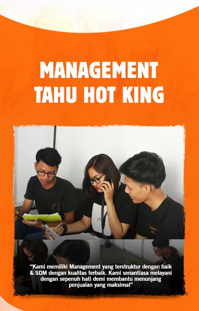 gambar manajemen franchise tahu hot king