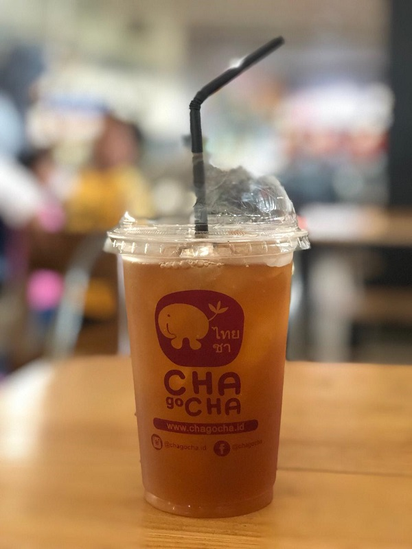 franchise chagocha minuman thai tea
