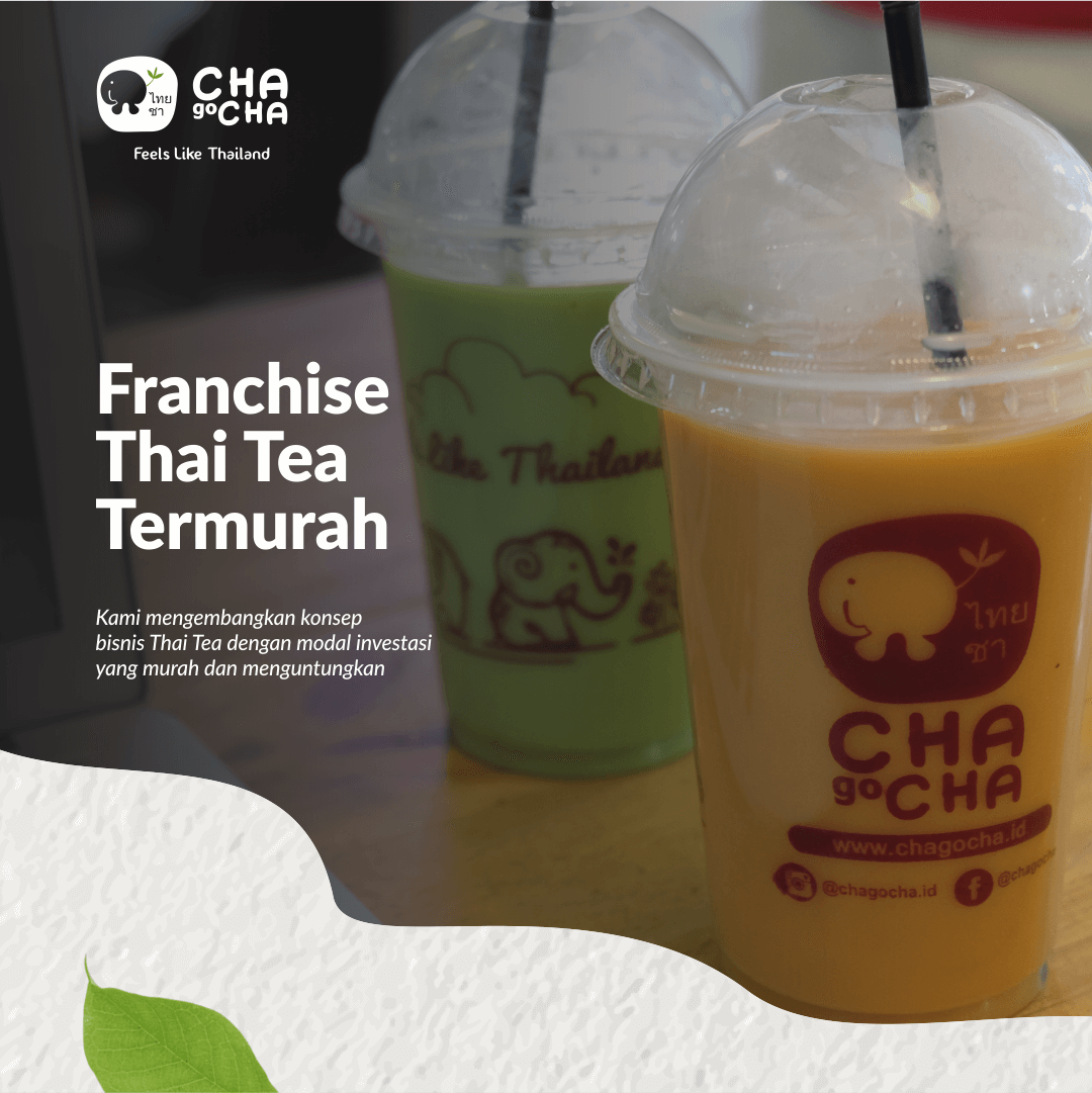 image franchise thai tea chagocha
