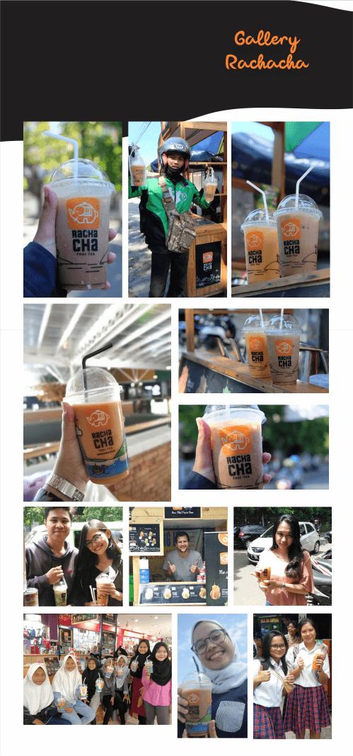 foto pelanggan thai tea rachacha
