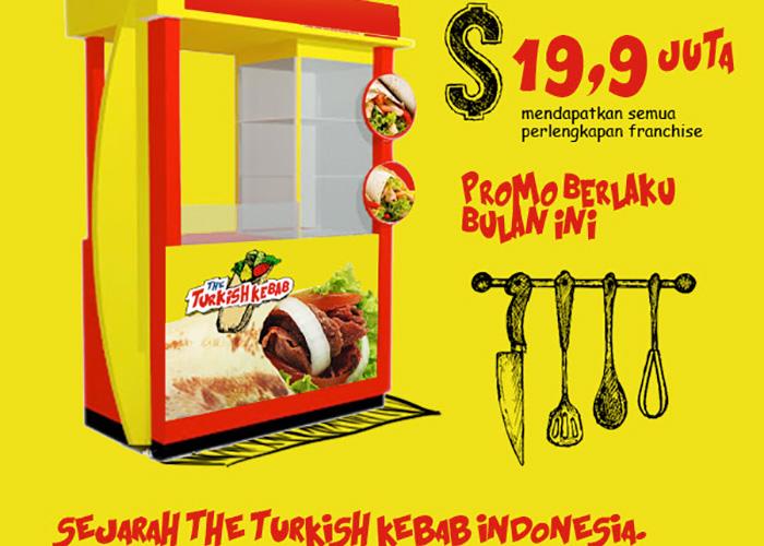 gambar waralaba makanan turki turkish kebab