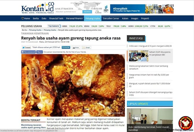 6 peluang usaha uncledazs ayam goreng