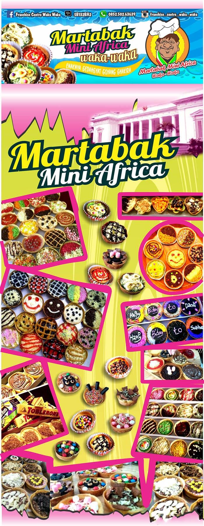5 franchise peluang usaha martabak mini africa waka waka