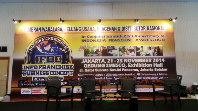 Info Franchise and Business Concept (IFBC) 2014